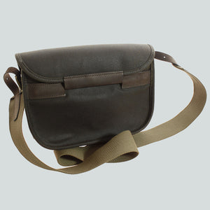BARBOUR CARTRIDGE BAG - WAX LEATHER - UBA0001OL71 - Back View