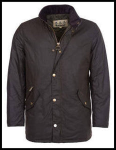 Barbour Prestbury Wax Jacket in Rustic Brown MWX0726RU91
