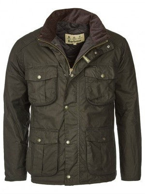 Barbour Winter Utility wax jacket in Olive MWX0903OL71
