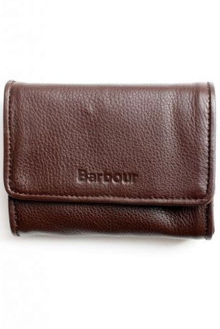 Barbour Purse in Brown Leather LAC0056BR711 front