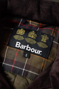 BARBOUR CORBRIDGE WAX JACKET - OLIVE GREEN - MWX0340OL71 - Label & Lining Detail