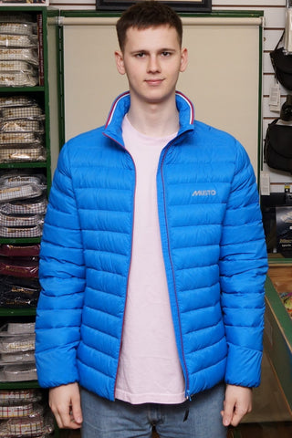 MUSTO Myers Packaway Jacket just £135 in Brilliant Blue LMJK046