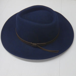 Hoggs Hat-Perth-Crushable Bushman-Waterproof-Navy-HOFPCFH trilby