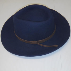 Hoggs Hat-Perth-Crushable Bushman-Waterproof-Navy-HOFPCFH