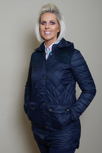 Barbour Quilt Greenfinch-Ladies-Navy-LQU0972NY71 length