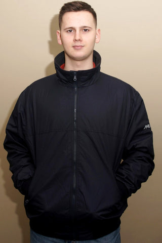 Musto Snug Blouson Jacket-True Navy/Cinder-MJ11009 pockets