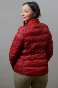 Barbour Gondola Ladies Quilted Jacket - Chilli Red- LQU0970RE61 back