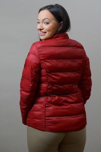 Barbour Gondola Ladies Quilted Jacket - Chilli Red- LQU0970RE61