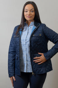 Barbour Bowfell-Ladies Quilt-Navy-LQU1028NY71