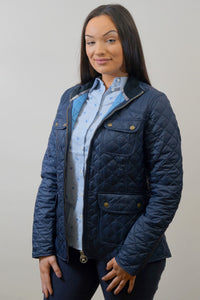 Barbour Bowfell-Ladies Quilt-Navy-LQU1028NY71 profile