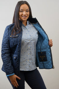 Barbour Bowfell-Ladies Quilt-Navy-LQU1028NY71 heaven
