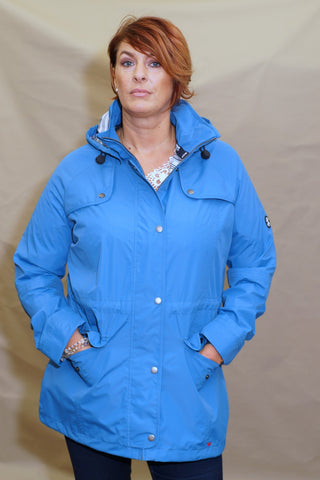 Barbour Trevose ladies Jacket in SKY BLUE LWB0321BL51