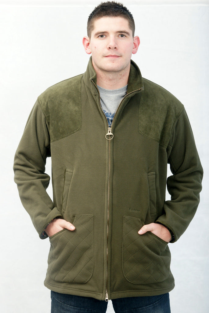on sale new product low price sale Buy your Barbour Dunmoor Fleece Shooting Jacket in Olive at SMYTHS ...