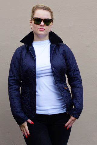Barbour Winter Liddesdale  Polarquilt Jacket in Navy