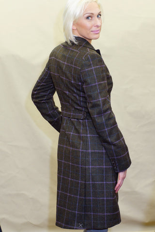 Barbour Darwen Long Tailored Tweed coat LTA0098OL92