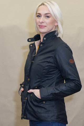 Barbour Oxer Ladies jacket in Navy LWX0660NY92