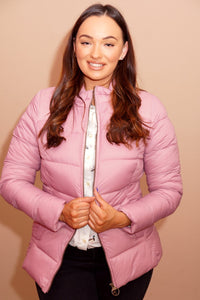 Barbour Brecon-Ladies Quilted Jacket-Pink Rose Bay-LQU1076PI32 light