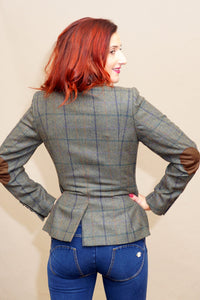 Barbour Aster Ladies Tailored Tweed Jacket  LTA0097GN55