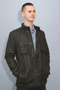 Barbour Corbridge-Wax Jacket-Olive Green-MWX0340OL71