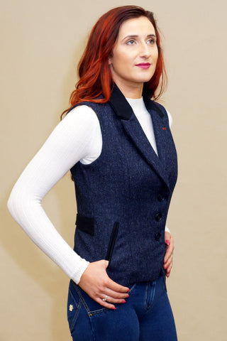 Jack Murphy Gilet in Navy Delight BOD138