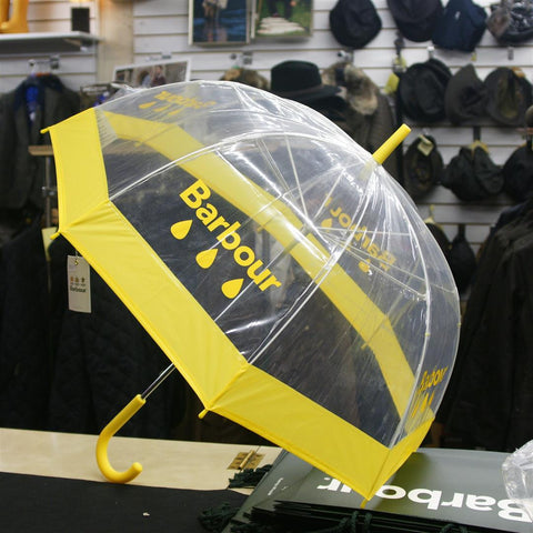 Barbour Raindrop Umbrella in Yellow LAC0100YE111