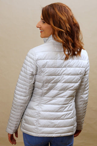 Barbour Iona new ladies quilt in Ice White LQU0703GY12
