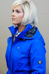 Barbour Trevose Ladies Jacket in Victoria BLUE LWB0321BL52