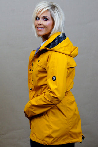 Barbour Trevose Jacket in Bright Canary Yellow LWB0321YE53