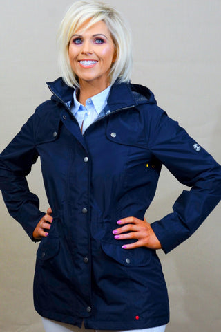 Barbour Trevose Jacket in NAVY LWB0321NY73 ladies waterproof coat