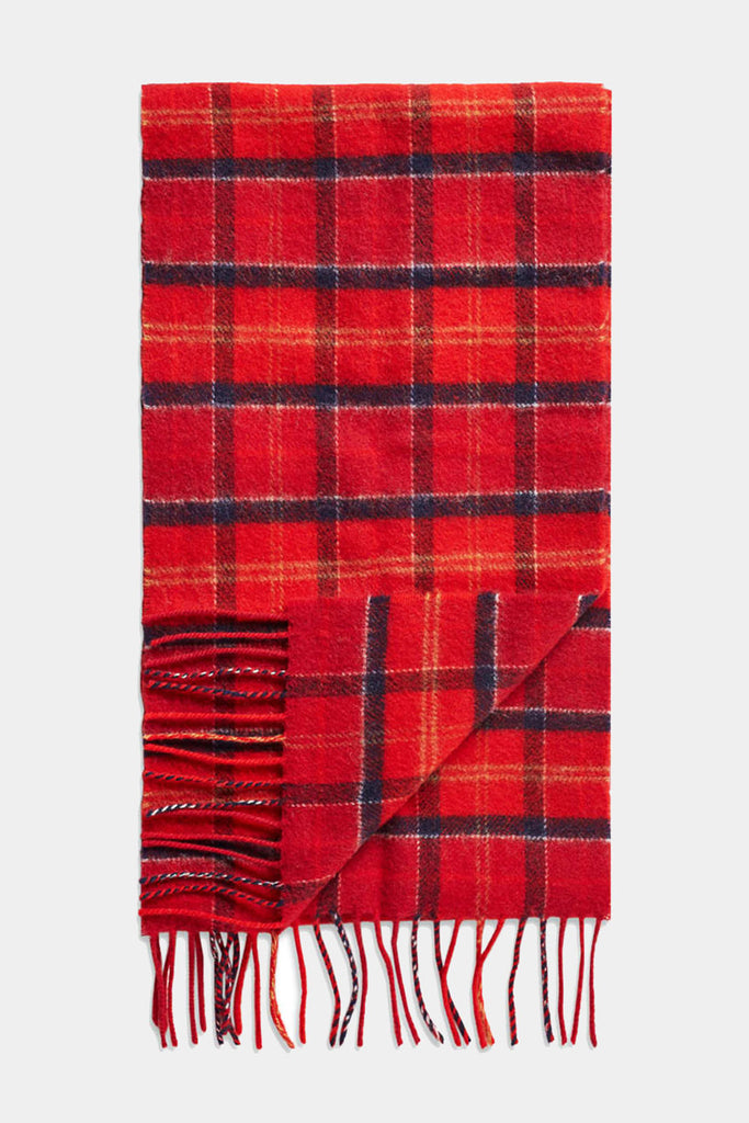 95f64fc535fe8 Buy your Barbour Scarf Red Cardinal Tartan Lambswool from Smyths ...