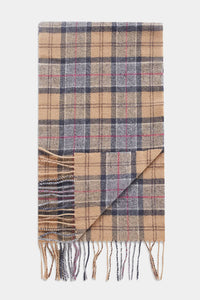 Barbour Tartan Lambswool Scarf - Dress Tartan - USC0001TN31 - Folded View