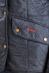 BARBOUR CAVALRY POLARQUILT - NAVY - LQU0087NY91 - Pocket Detail