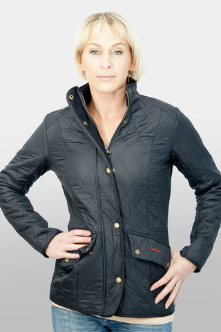 BARBOUR CAVALRY POLARQUILT - NAVY - LQU0087NY91 - Front View