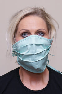 PPE-Face Masks-Fabric-Reusable-Made Locally-Green front