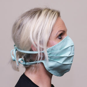 PPE-Face Masks-Fabric-Reusable-Made Locally-Green side