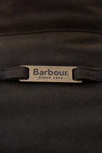 Barbour Ogston Wax Jacket - Olive - MWX0700OL51 - Hang Loop Detail