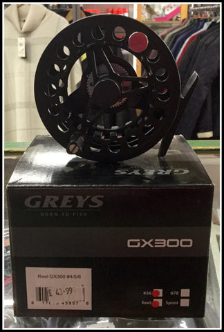 Greys Fly reel GX300 4,5,6