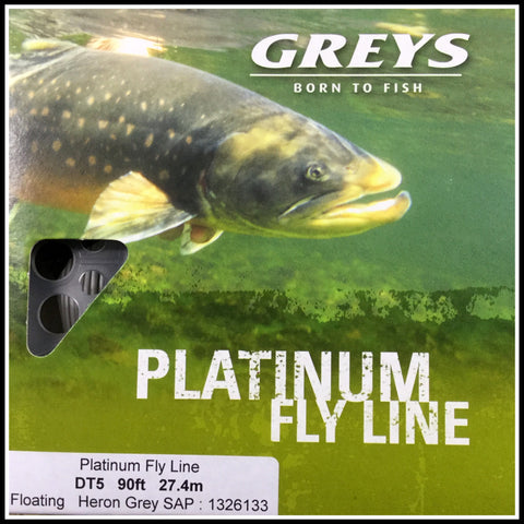 Greys Platinum Fly fishing line DT5F 1326133
