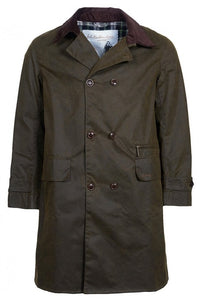 Barbour Hayden-Barbour ICONS-Re-Engineered-Mens Wax Jacket-Olive-MWX1556OL51 front