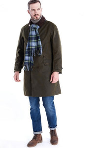 Barbour Hayden-Barbour ICONS-Re-Engineered-Mens Wax Jacket-Olive-MWX1556OL51 length