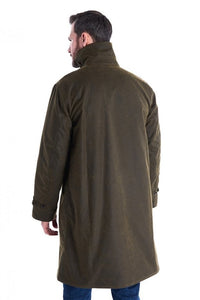 Barbour Hayden-Barbour ICONS-Re-Engineered-Mens Wax Jacket-Olive-MWX1556OL51 back