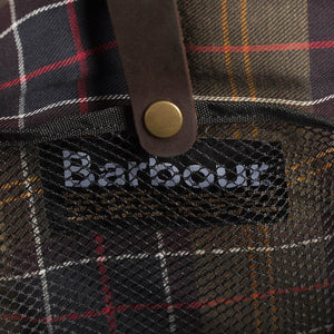 Barbour Briefcase Wax Leather - Navy - UBA0004NY91 - Inside Detail
