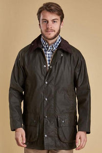 Barbour Beaufort-Classic Wax Jacket-Olive-MWX0002OL71