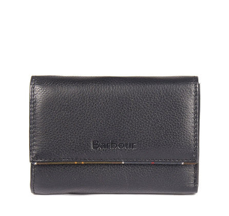 Barbour purse in black leather LAC0075BK11