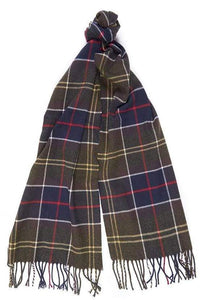 Barbour Christmas Set-Scarf and Gloves-Classic Tartan-LGS0003TN11 scarf