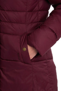 Barbour Quilt-Caldbeck-New Ladies-Bordeaux-LQU1080RE75 pocket