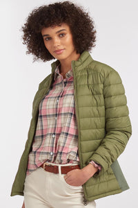 Barbour Avebury-Ladies Quilted jacket-New-Bayleaf-Olive Green-LQU1297GN31 style