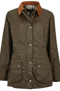 Barbour Aintree-Ladies-Wax Jacket-Olive-New-LWX1140OL99 fashion