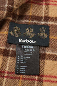 Barbour Tartan Lambswool Scarf - Muted Tartan - USC0001TN91 - Label Detail
