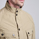 Barbour International-Guard-Casual Jacket-Sandstone-MCA0419SN31 collar